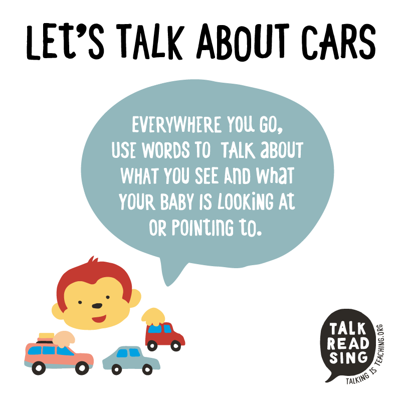 Talking Is Teaching - Talk, Read, Sing